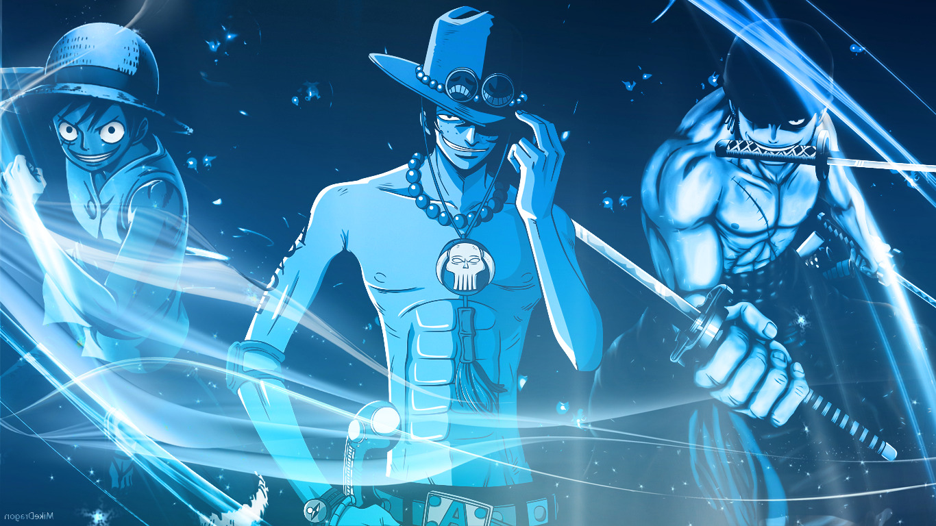 Portgas D Ace Wallpaper 3d One Piece Monkey D Luffy Portgas D Ace Roronoa Zoro