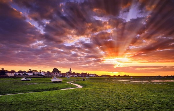 Pictures of the Sun and Sky Landscape Photography Is To