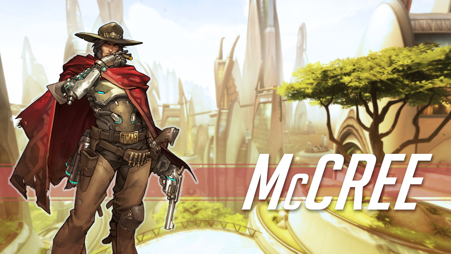 1920x1080 Hd Wallpaper Overwatch Girls Livewirehd Author Mccree Jesse Mccree Blizzard