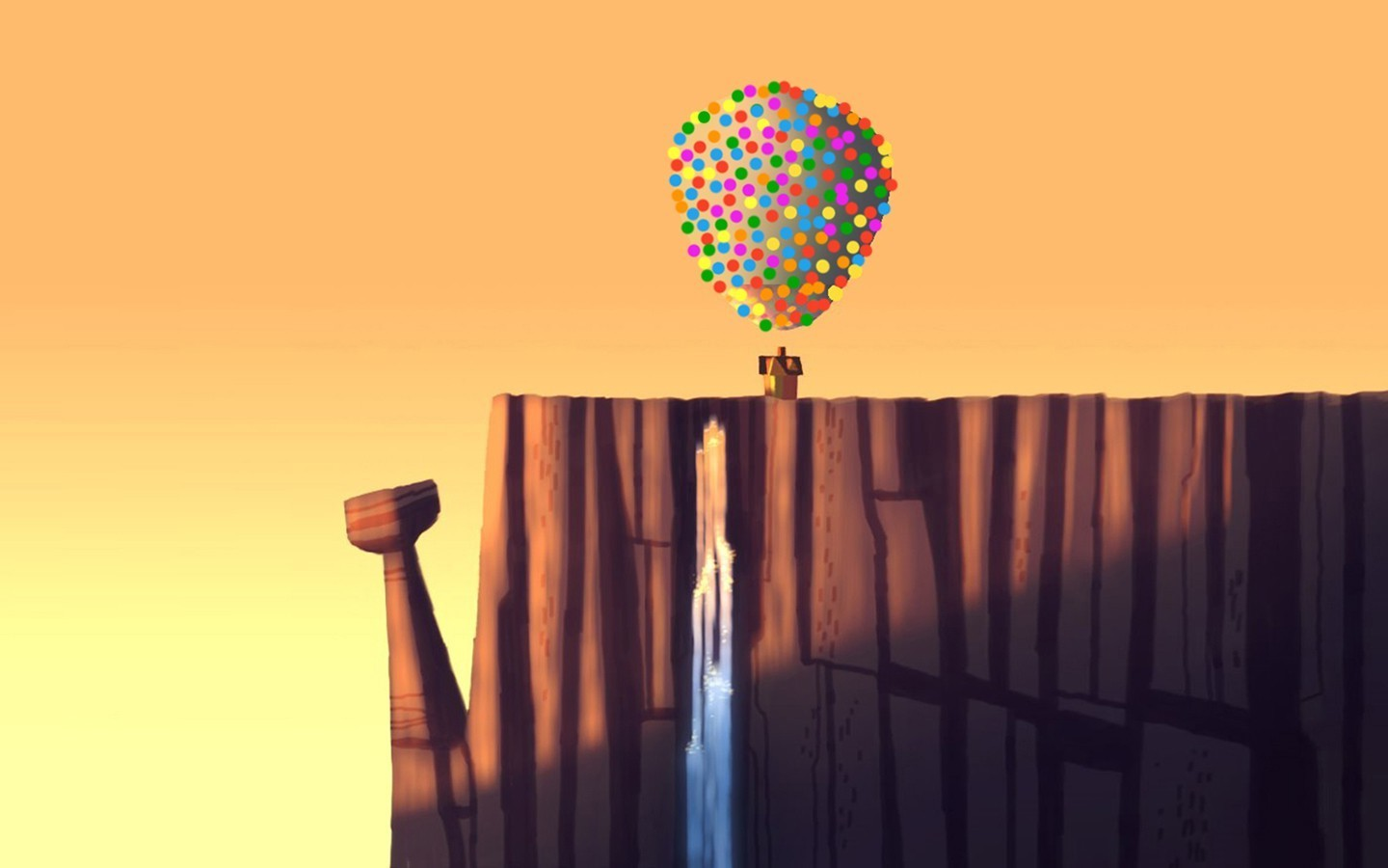 New 3d Love Wallpapers For Desktop Balloons Artwork Up Movie Wallpapers Hd Desktop And