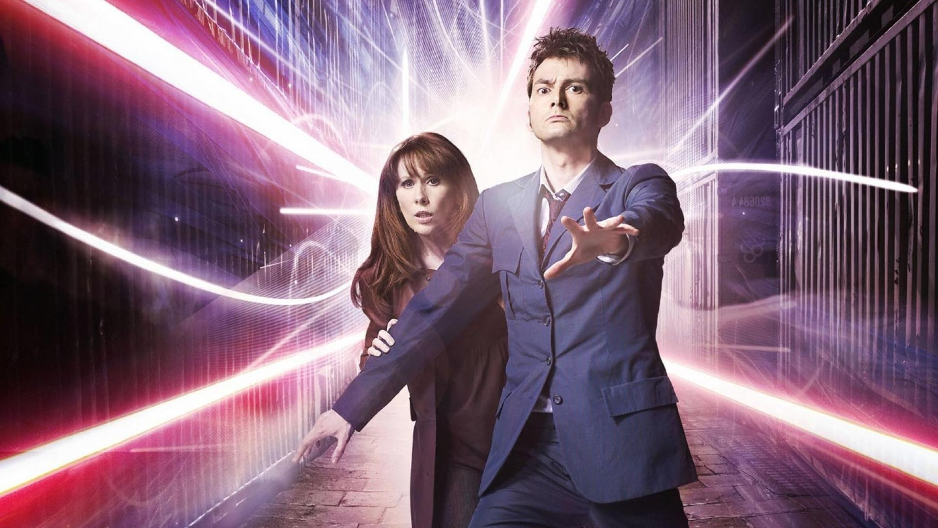 Doctor Who The Doctor TARDIS David Tennant Tenth