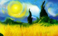 colorful, Modern Impressionism, Landscape Wallpapers HD ...