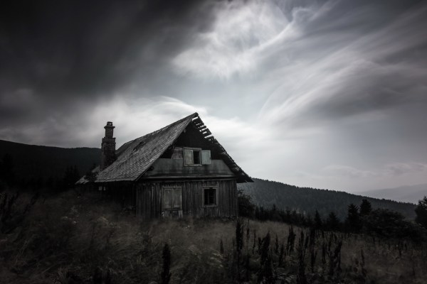 house ruin landscape wallpapers