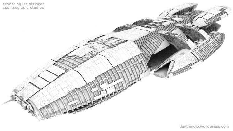 Battlestar Galactica, Spaceship Wallpapers HD / Desktop