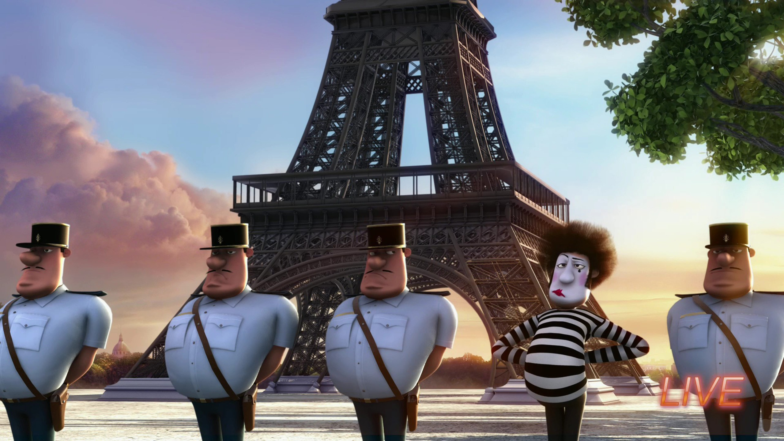 Girls Wallpapers Effle Tower Paris Eiffel Tower France Despicable Me Wallpapers Hd