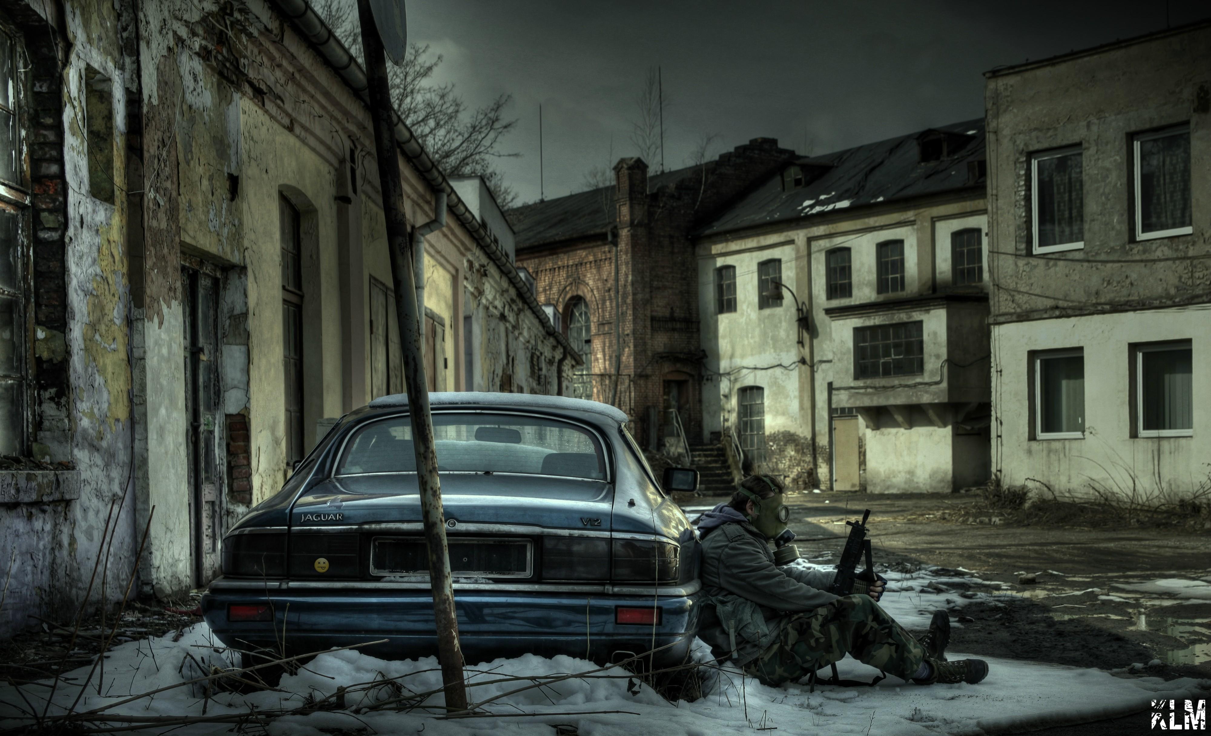 New Girl Wallpaper Full Hd Gas Masks Abandoned Poland Urban Exploring Urbex
