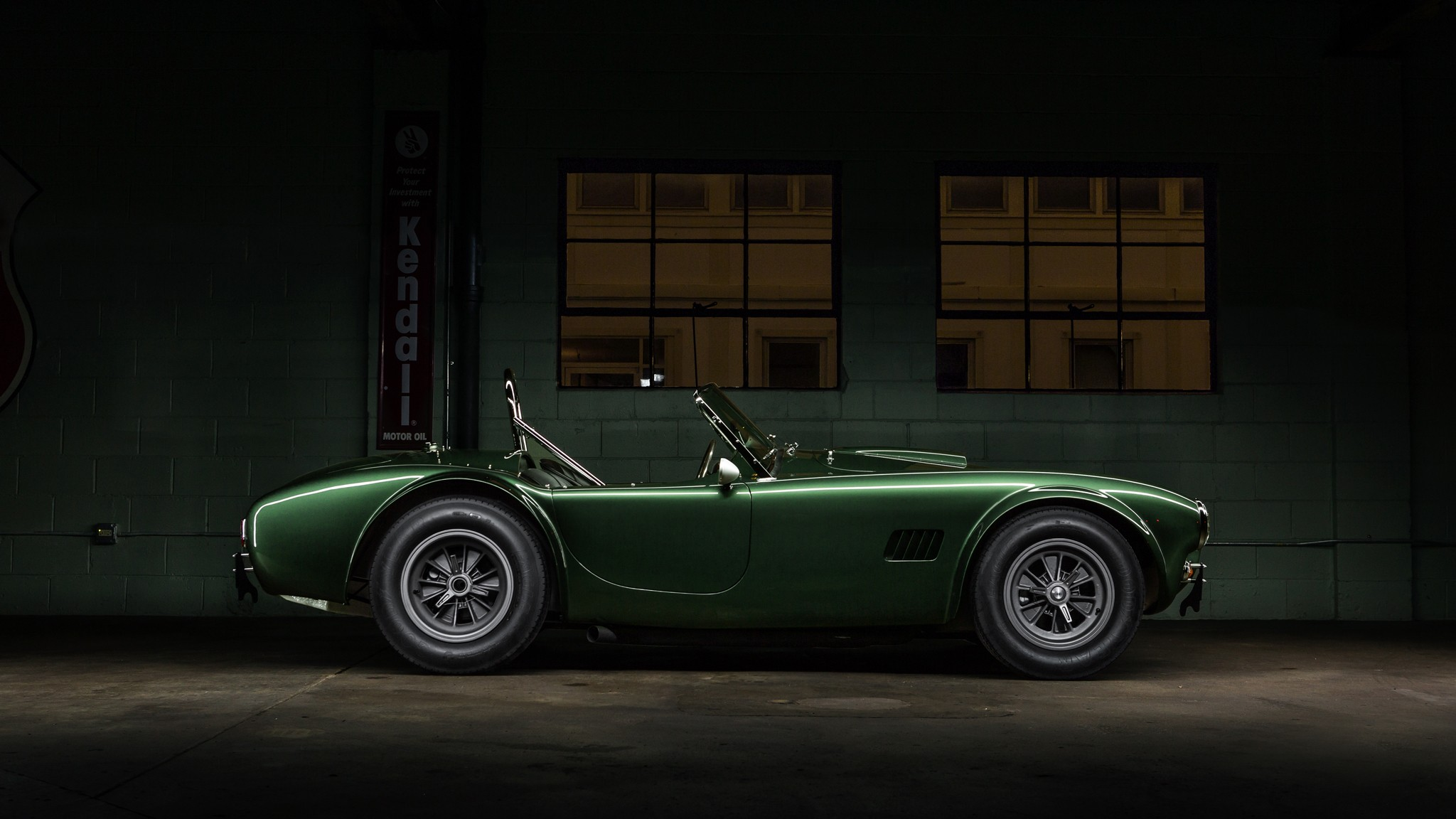 3840x1080 Wallpaper Classic Car Car Green Cars Vehicle Shelby Shelby Cobra Wallpapers