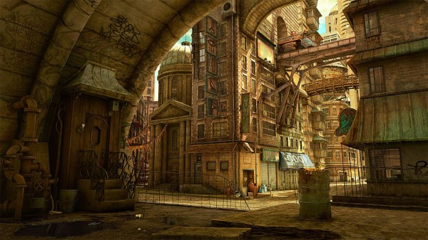 Tekkon Kinkreet City Steampunk Wallpapers Hd Desktop