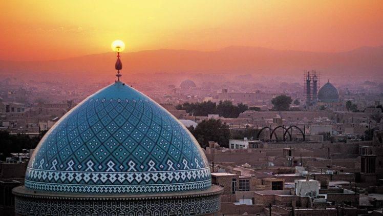 islam iran sunset islamic