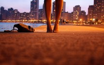 Beach Feet Lights Barefoot Wallpapers Hd Desktop And