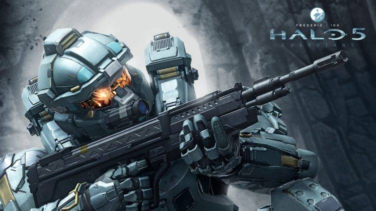 Pubg 3840x1080 Wallpaper Halo 5 Spartans Machine Gun Fred 104 Wallpapers Hd
