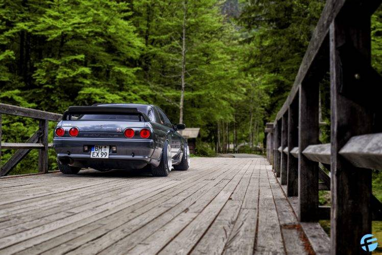 Vintage Car In Forest Hd Wallpaper Nissan Skyline R32 Car Wallpapers Hd Desktop And Mobile
