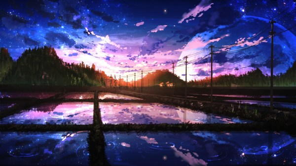 Aesthetic Anime Wallpaper 1920x1080 Hd Wallpaper For Desktop