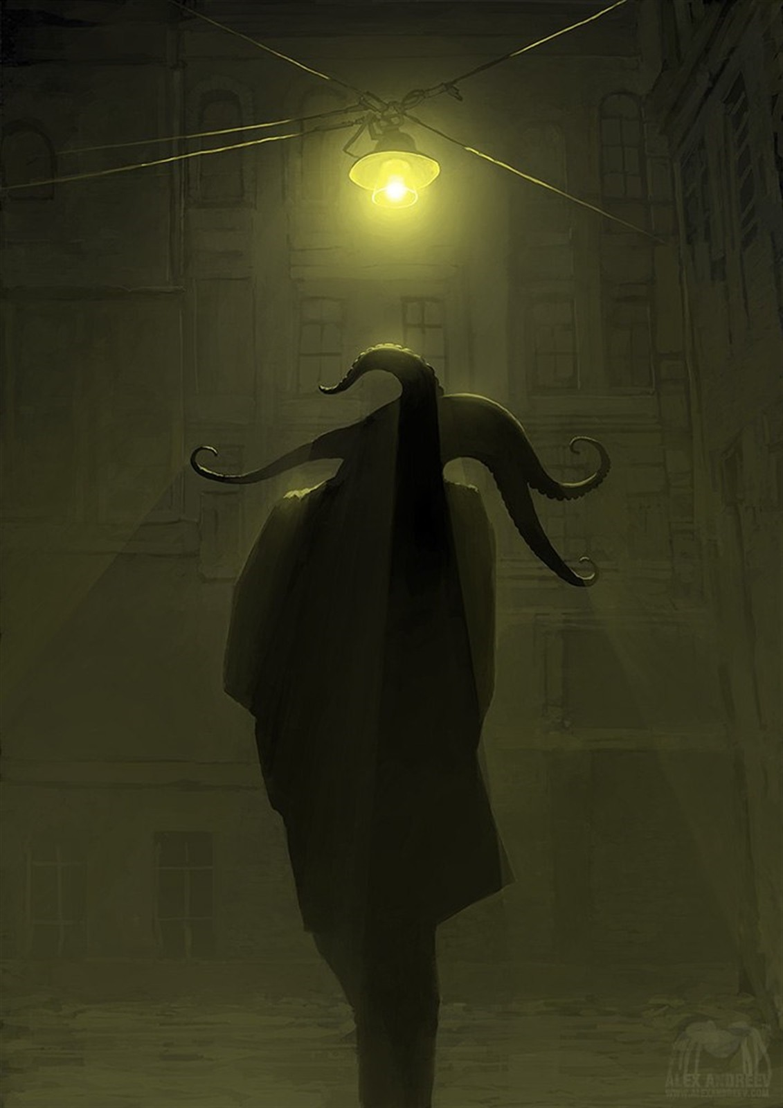Hp Full Hd Wallpaper H P Lovecraft Alexey Andreev Surreal Artwork Concept