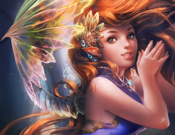 Anime Digital Art Girls Fantasy Wallpapers Hd