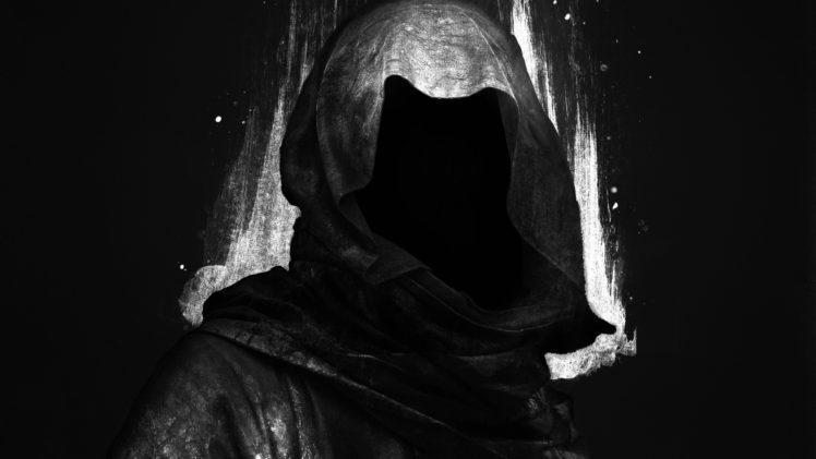 Military Skull Mask Drawing