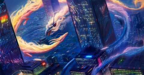 dragon fire water yellow cityscape hd dragons desktop wallpapers screen background backgrounds mermaid deviantart mobile resolution