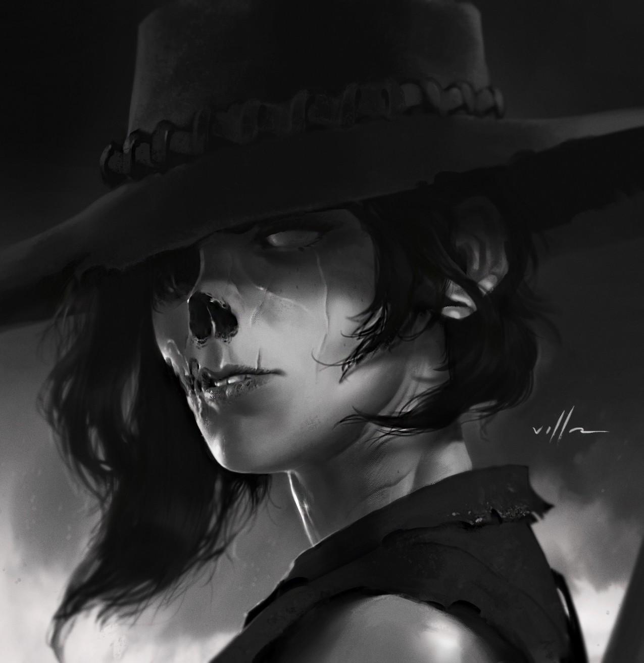 Hd Zombie Girl Wallpaper Women Brunette Dead Monochrome Fantasy Art Undead
