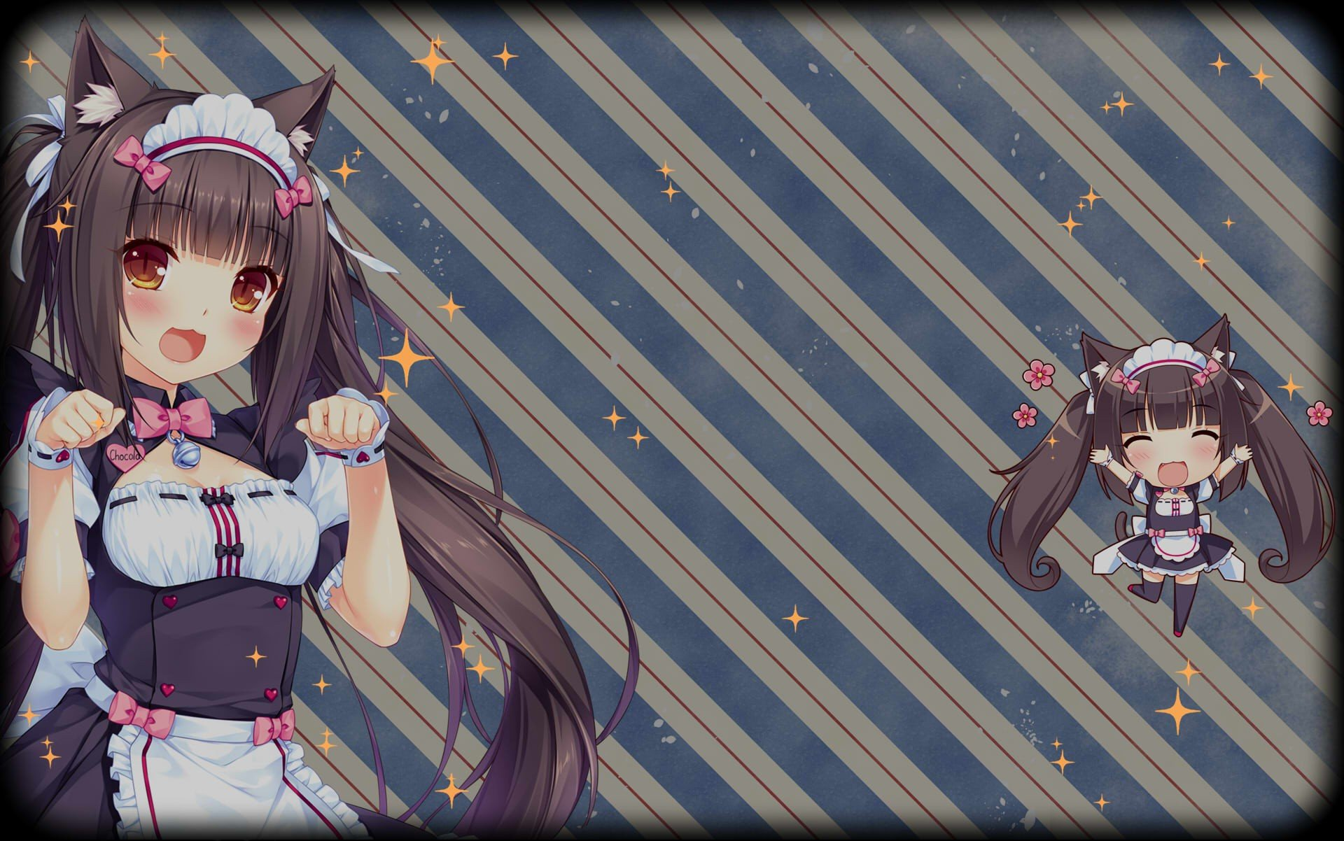 Cute Steam Wallpapers Neko Para Chocolat Neko Para Anime Girls Maid Outfit