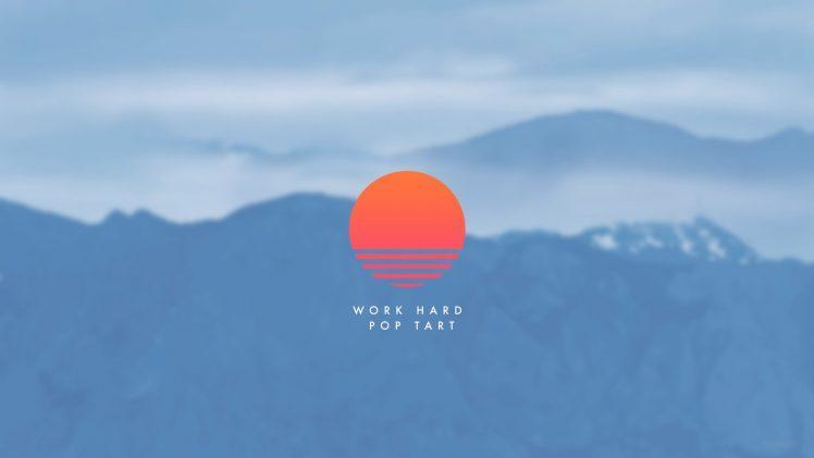 Sunrise, Mountain, Work, Motivational Wallpapers HD
