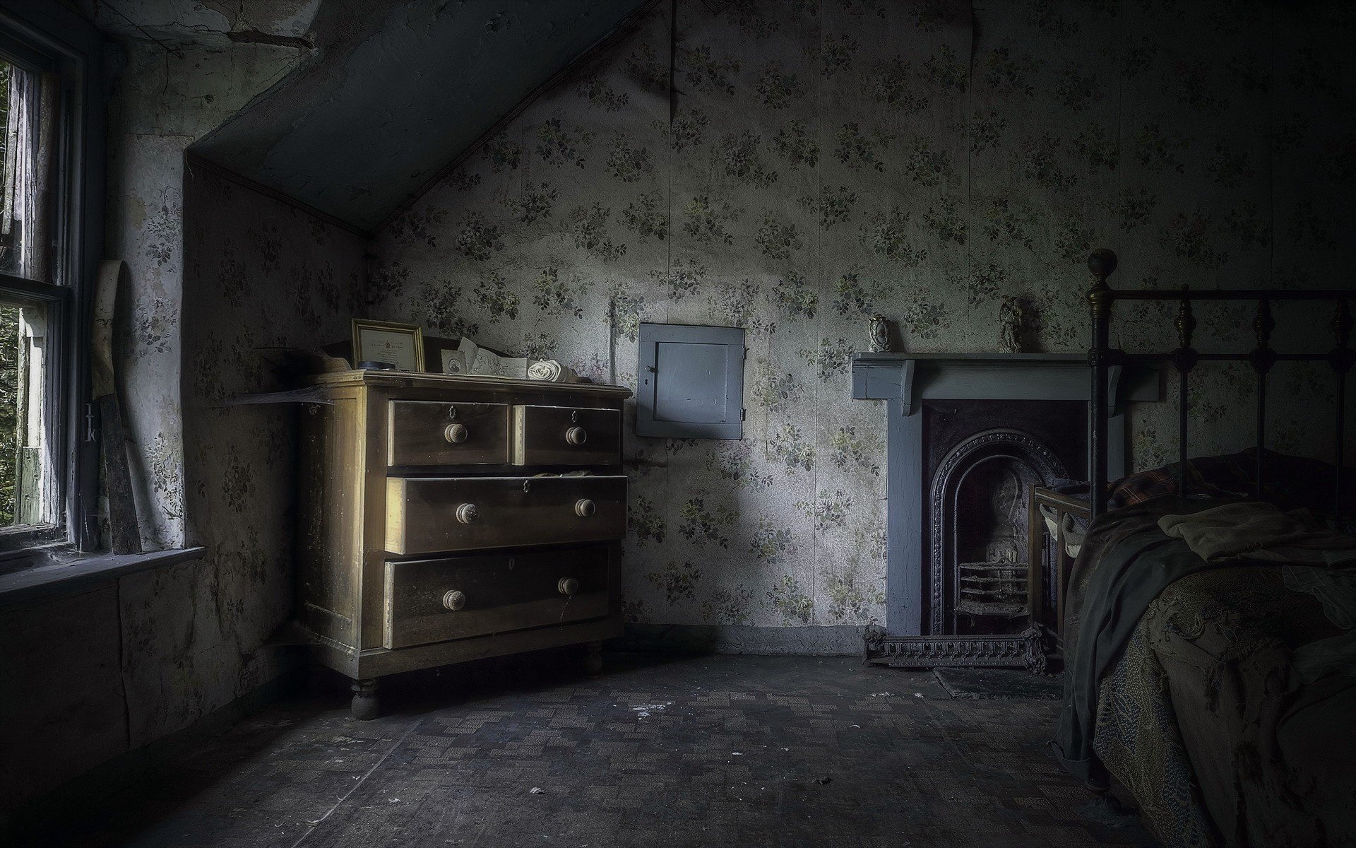 house Room Interiors Spooky Gothic Wallpapers HD