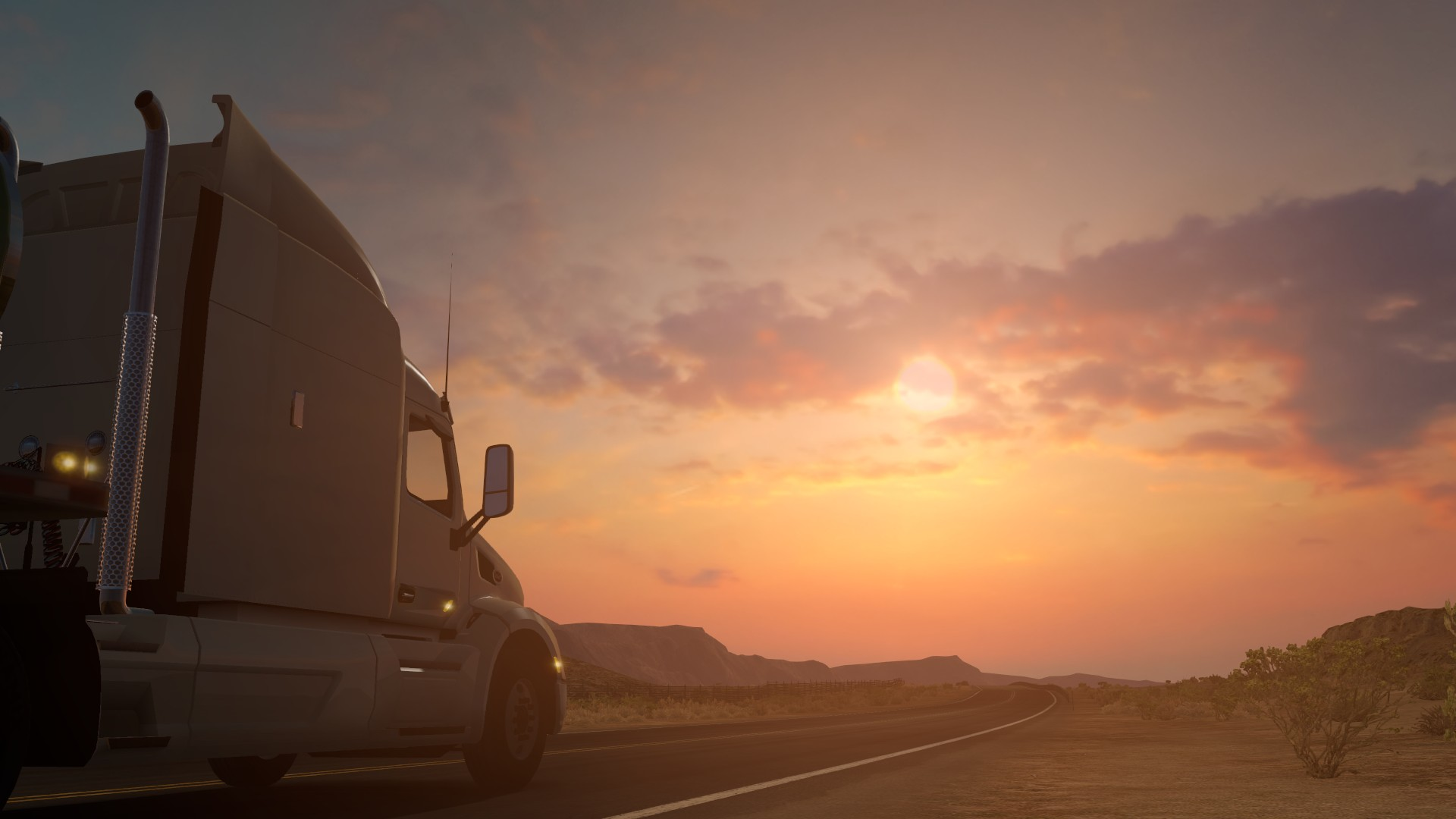 3d Home Hd Wallpaper American Truck Simulator Ats Trucks Peterbilt Kenworth