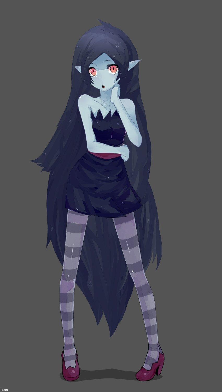 Kawaii Girl Wallpaper Marceline The Vampire Queen Cartoon Adventure Time