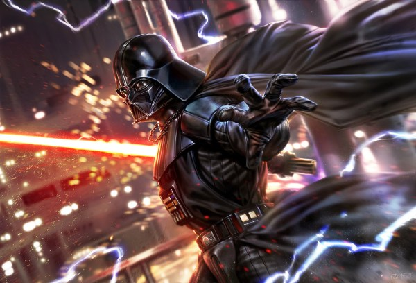 Darth Vader Fan Art Digital Star Wars Wallpapers Hd