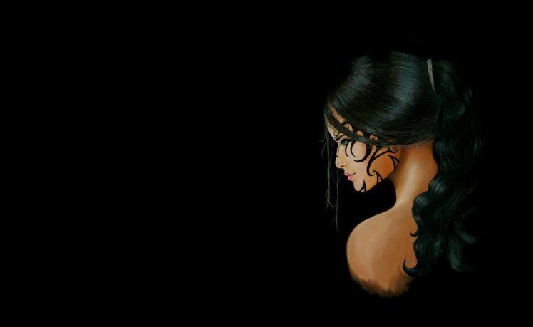Tattoo Girl Wallpaper Hd Iphone Profile Artwork Dark Fantasy Girl Wallpapers Hd