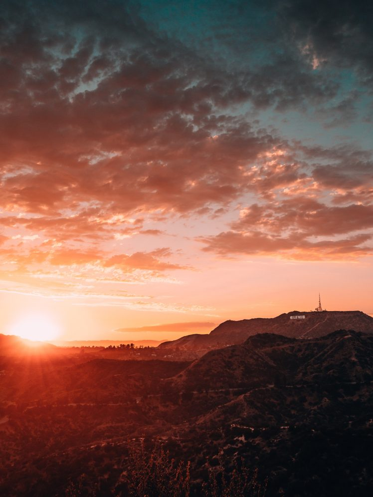 nature hollywood sunrise los