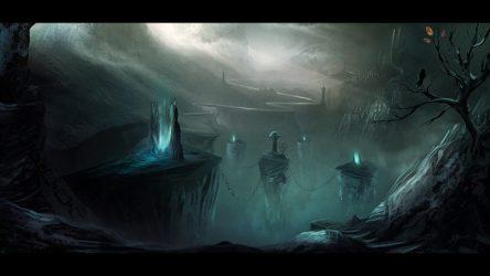 digital art Painting Gloomy Dark fantasy Wallpapers HD / Desktop and Mobile Backgrounds