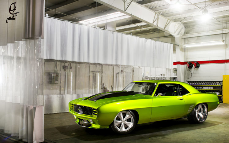 Classic Old Car Wallpapers 1600x900 Vehicles Cars Chevy Chevrolet Camaro Hot Rods Muscle