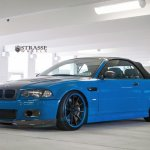 Bmw E46 M3 Convertible Blue Strasse Tuning Wheels Wallpapers Hd Desktop And Mobile Backgrounds