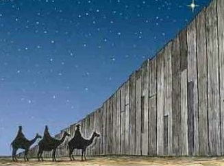 Behind A 30 Foot Prison Wall Merry Christmas Becomes A