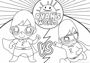 Watch Wally and Weezy color Red Titan vs Dark Titan!
