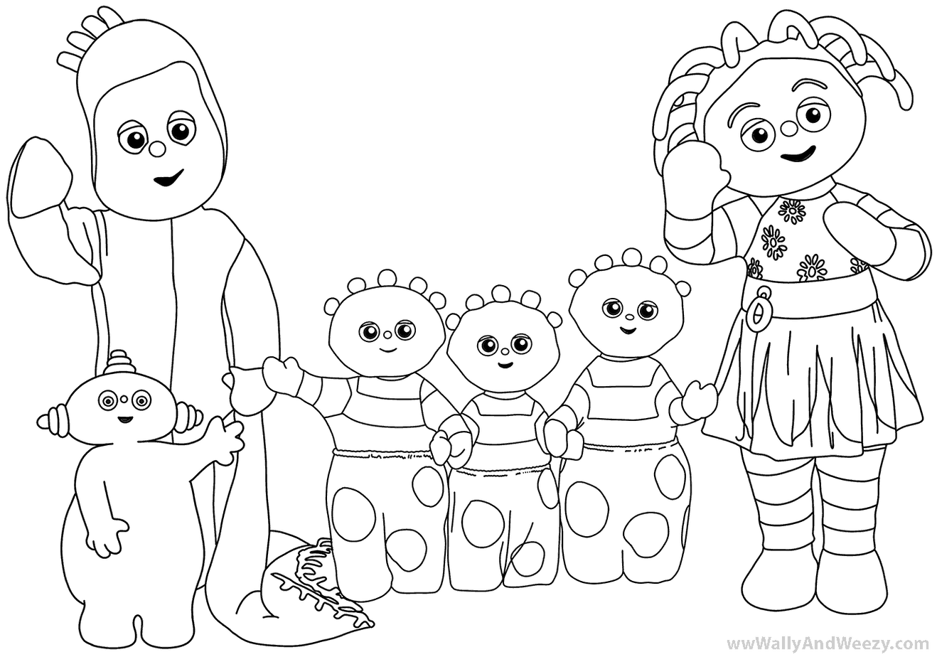 Coloring Pages Archives Wally And Weezy