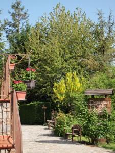 """Unser 1. Unterkunft, die """"Residenza della Rose"""" in Varco"""