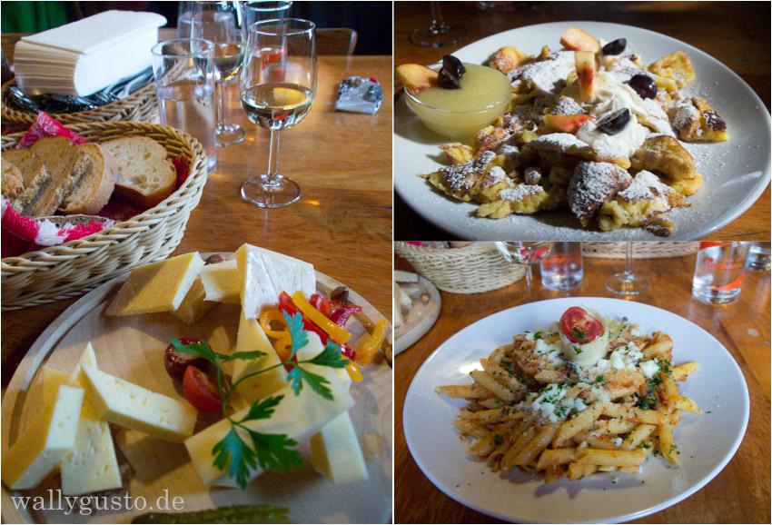 Südtirol Radlseehütte Essen