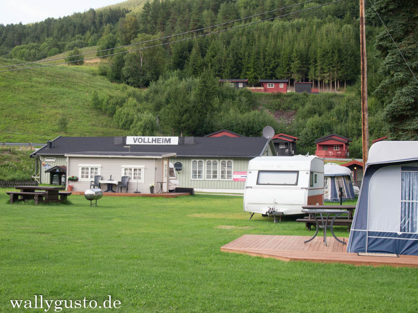 Norwegen Rondane Vollheim Camping