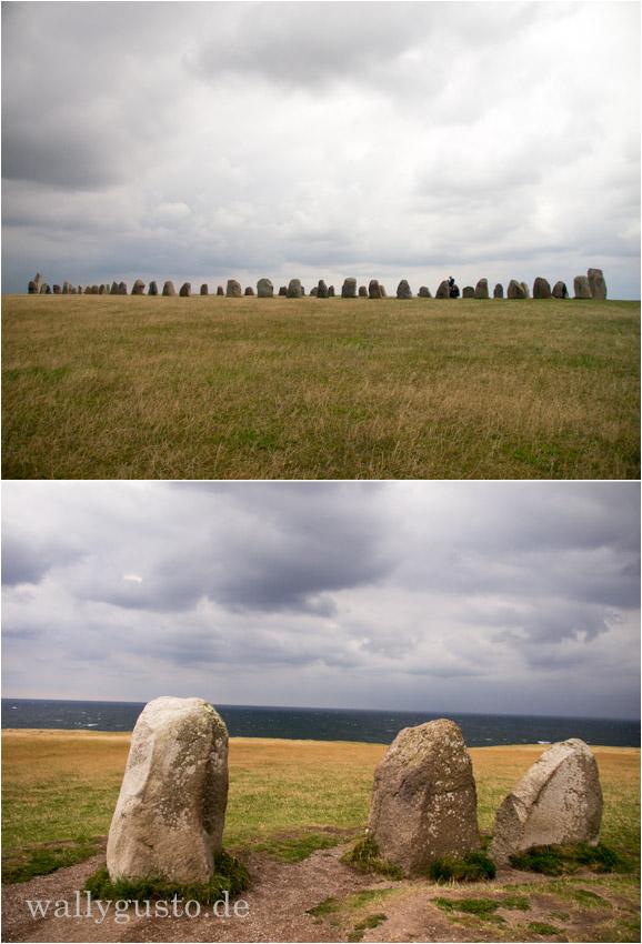Ales stenar Steinschiff