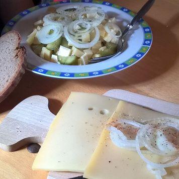 Zweierlei vom Käse auf der Scheidwang Alpe
