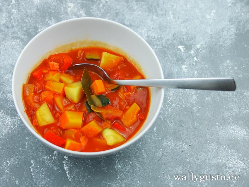Bayerischer Gemüseeintopf