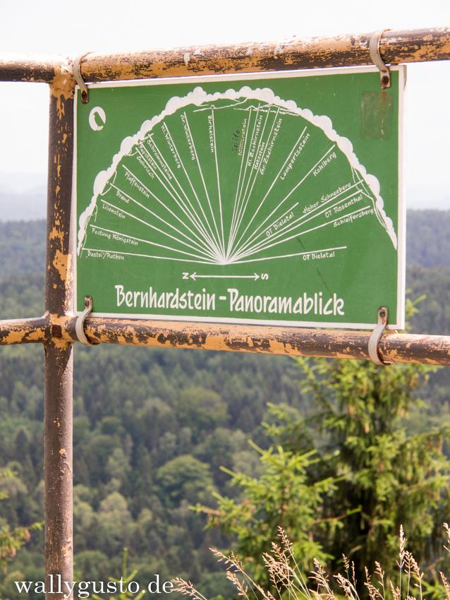 Bernhardstein Panormablick