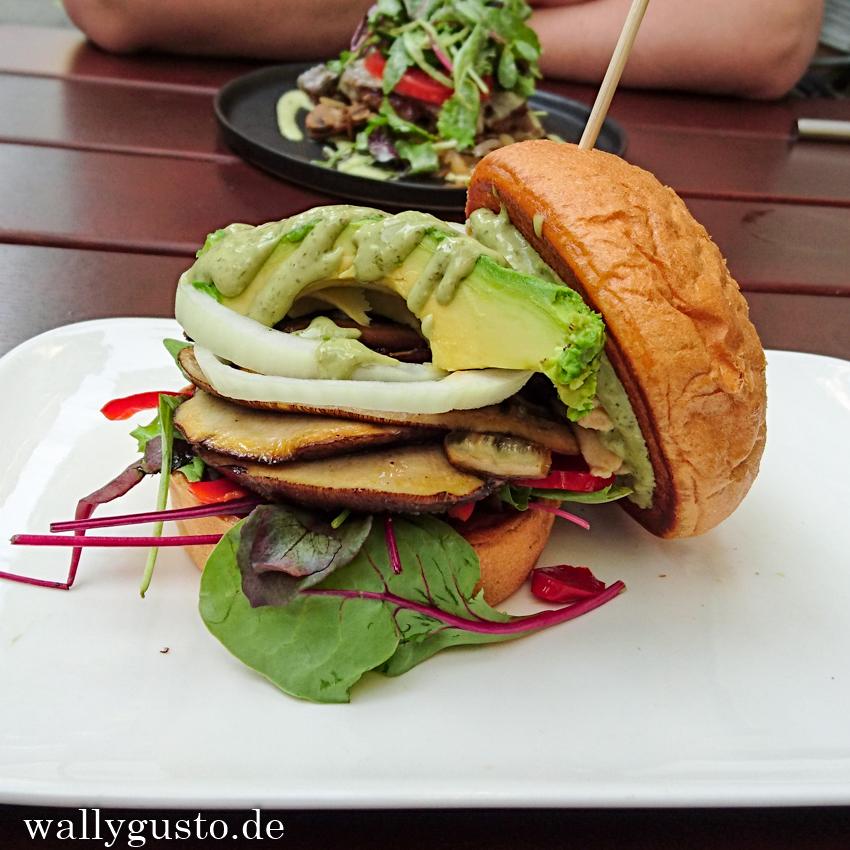 Burger House Vegan Burger