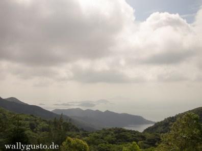 Lantau Ausblick vom Nyong Ping Platau