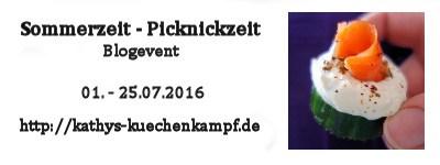 Blogevent 07/16 – Sommerzeit – Picknick-Zeit