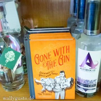 Gute Gin-Auswahl bei Jenners / Edinburgh