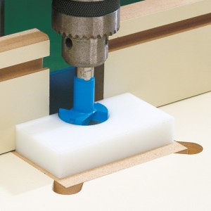 Hinge Cup Drilling JIG IT by Rockler