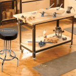 Rockler Shop Stand Work Table