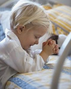 fé como de criança